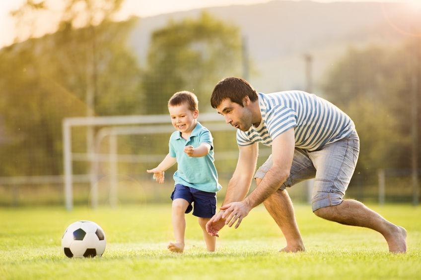 olahraga bersama, libur bersama keluarga, amandel, amandel bengkak, obat amandel anak