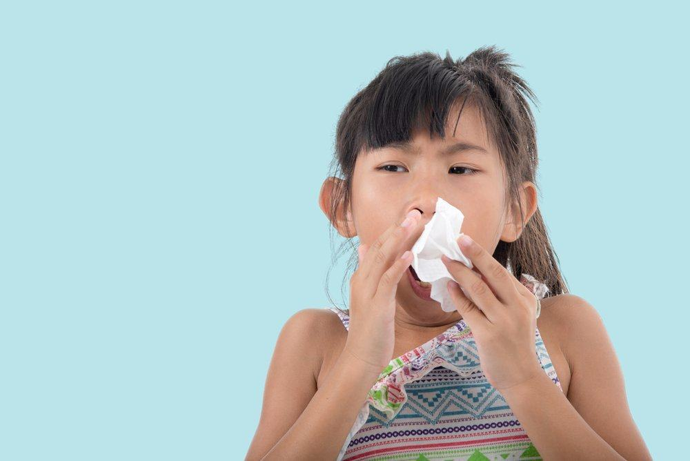 anak flu