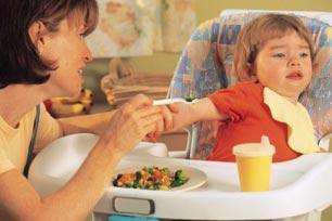 tips si kecil menyantap makanan sehat,