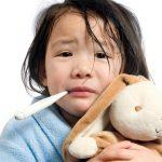 Apakah anak bisa demam karena tonsil atau amande? Yuk lihat disini
