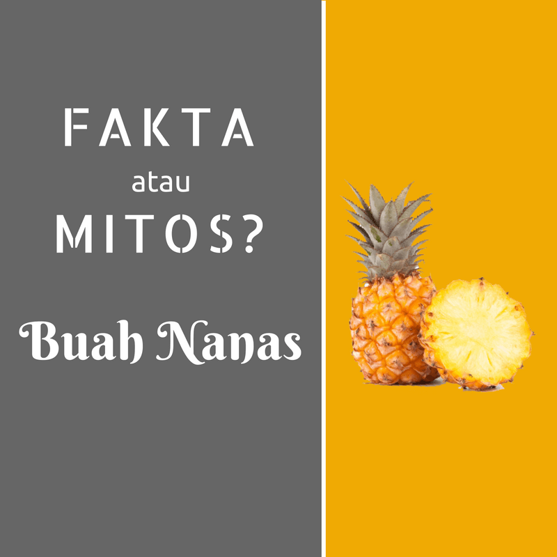 Bagi bumil yang belum tahu akan mitos / fakta memakan buah nanas akan berbahaya, disini ada penjelasannya