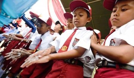 Edukasi Cuci Tangan Penting Dilakukan Sejak Dini