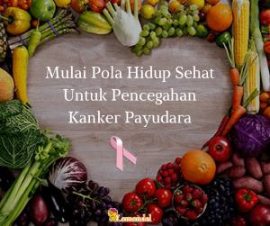 Mulai Pola Hidup Sehat Untuk Pencegahan Kanker Payudara (1)